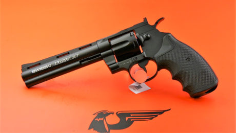 REVOLVER CO2 SWISS ARMS MOD.357 6″ CAL. 4,5