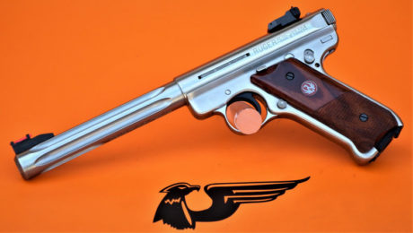 PISTOLA SEMIAUTO RUGER MOD.MARK II GOVERNEMENT