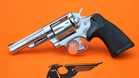 REVOLVER RUGER MOD.POLICE SERVICE SIX STAINLESS CAL.357 MAG.