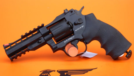 REVOLVER CO2 MOD.GR STRICKER 4″ CAL. 4,5