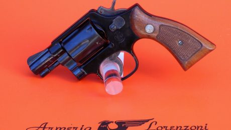 REVOLVER SMITH & WESSON MOD. 12-3 CAL. 38 SPECIAL